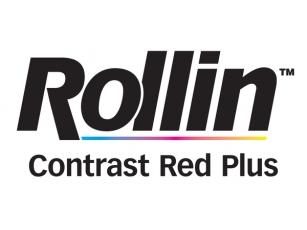 Caucho Impresión Offset - Rollin Contrast Red Plus