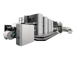 Máquina Impresión Offset Bobina - Komori S38D
