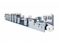 Semi-rotativa Impresión Offset UV para Etiquetas - Miyakoshi MLP