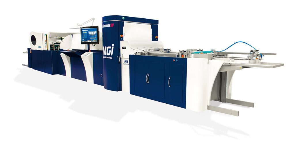 MGI OLYMPUS manufacturer of machinery and printing solutions